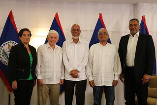 Signing of Declaration by Former Foreign Ministers of Belize