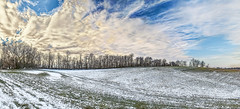 IMG_6939-42NPRtazl1TBbLGERkG (ultravivid imaging) Tags: ultravividimaging ultra vivid imaging ultravivid colorful canon canon5dm2 clouds sunsetclouds scenic sky winter twilight lateafternoon landscape countryscene pa pennsylvania panoramic farm fields field snow trees tree vista sunset stormclouds