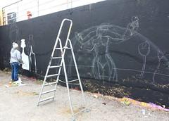 281A6262 Rennes Impermanence Galerie @Maya Wnu (blackbike35) Tags: rennes bretagne france impermanence galerie mur wall street streetart paint painting art work writing artistes women