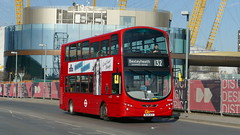 First Goes To Greenwich (londonbusexplorer) Tags: goahead london volvo b9tl wrightbus gemini 2 wvn47 bl61acx 132 north greenwich bexleyheath shopping centre tfl buses