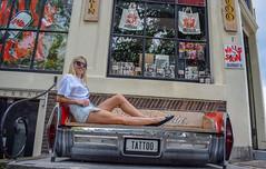 Amsterdam (dariafocht) Tags: bench amsterdam tattoo studio