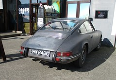 1968 Porsche 912 (occama) Tags: hhw646g 1968 porsche 912 old car grey german usa import cornwall uk sun sunny