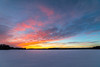 Reddish clouds (Arttu Uusitalo) Tags: sunset dusk winter spring march finland northern ostrobothnia icy lake lakescape landscape reddish clouds blue sky canon eos 5d mkiv samyang 14mm wideangle
