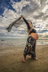Fotos para Esther #13 (Héctor Rodríguez Maciá) Tags: sanjuan alicante españa spain playa mar costa arena mediterráneo embarazo embarazada