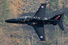 RAF Hawk T2, 4 Sqn, LFA17, 26/2/19 (TheSpur8) Tags: t2 uk trainers aircraft date hawk landlocked lakedistrict lowlevel military anationality skarbinski transport 2019 places roughcrag