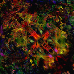 the trial... (Mark Noack) Tags: light color photoshop layer layering surreal expressionism abstract psychedelic futurist abstraction