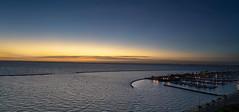 Sunrise - Corpus Christi (Danielle_Swain) Tags: sunrise corpuschristi gulfofmexico texas sea harbor blue marina