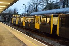 TWM 4030 @ South Gosforth Metro station (ianjpoole) Tags: tyne wear metro class 994 metrocar 4030 rear service from st james south shields
