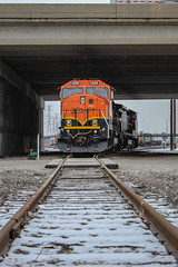Fresh Paint (SantaFe669) Tags: bnsf trains railroads railfanning sd60m b408w locomotives diesellocomotives