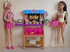 Jane & Sophie (BackToTheChildhood80) Tags: barbie doll mattel dreamhouse susy brown blond teresa store playset
