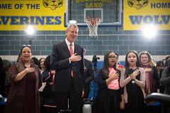 Mayor Bill de Blasio hosts Parent Leader Forum P.S. 153 at Adam Clayton Powell School  at P.S. 153, Adam Clayton Powell Schoo (nycmayorsoffice) Tags: education townhall parents doe schools school newyork ny usa