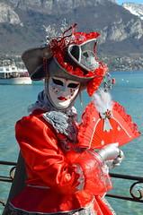 Extrême-Orient (RarOiseau) Tags: rotrossorougerood hautesavoie annecy carnaval lac portrait fête événement