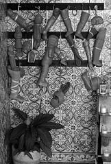 Body Parts_DSC2616 (jonwaz) Tags: black white bw blanco y negro portugal europe europa blackandwhite monochrome jonwaz religion bodyparts mono