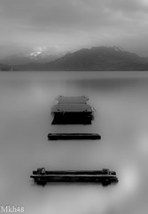 Désolation (paul.porral) Tags: noiretblanc blackandwhite bw bnw nb mono monochrome landscape paysage lake lacannecy water longexposure poselongue winter mist brume flickr ngc countryside absoluteblackandwhite outside