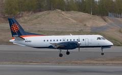 Saab 340 | N424XJ | ANC | 20150510 (Wally.H) Tags: sf340 saab340 n424xj penair peninsulaairways anc panc anchorage airport saabfairchild