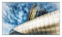 La Cité du Vin (Jean-Louis DUMAS) Tags: bordeaux abstract abstrait abstraction architecture architect architecte architectural architecturale bâtiment building reflets reflecting reflections ciel sky blue vine vin