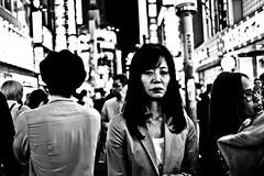 Moody Shibuya (Victor Borst) Tags: street streetphotography streetlife re reallife real asian asia asians faces face candid travel travelling trip traveling urban urbanroots urbanjungle blackandwhite bw mono monotone monochrome shibuyacrossing mood moody sad tokyo japan japanese portrait portraits xpro2 expression fuji fujifilm happyplanet asiafavorites