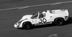 No 36 (tom ballard2009) Tags: goodwood cars motorsport speed sport testing 77th members meeting porsche 36 mono blackwhite blackandwhite