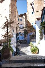 562- ESCALERAS - XAUEN - MARRUECOS - (--MARCO POLO--) Tags: ciudades pueblos calles rincones arquitectura marruecos exotismo colores