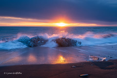 Ice Beach, Jökulsárlón D85_7815.jpg (Mobile Lynn) Tags: beach landscape morninglight water sunrise ocean glacier coast blacksand ice landscapephotography outdoorphotography easternregion iceland is