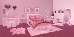Dream a little dream of me (AlyceAdrift) Tags: bee designs ella shiny shabby second life bedroom interior decor moss mink half deer cheeky pea lagom apple fall