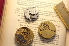 American Waltham, Elgin and Solar Watch Co pocket watch movements and Dunhill lighter (Gold Coast Jewellery Loans) Tags: elgin waltham pocketwatch mechanicalwatch railroadwatch vintage antique watchmovement dunhill cigarettelighter pawnbroker goldbuyer goldcoast