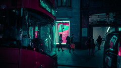 20,065 (Panda1339) Tags: noentry 28mm scifi london ldn purple bus streetphotography sign uk cinematic