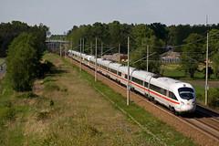 2 x DB ICE-T - ICE 1615 Berlin Gesundbrunnen - München Hbf  - Kerzendorf (Rene_Potsdam) Tags: kerzendorf brandenburg deutschland europe europa railroad treinen trains trenes züge icet br411 deutschebahn