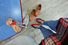 i love my rented bowling shoes (girl enchanted) Tags: unaweek unamoof moofdoll moof una huna