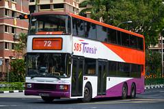 SBS Transit Volvo Olympian 3-Axle Walter Alexander Royale (nighteye) Tags: sbstransit 新捷运 volvo olympian 3axle walteralexander royale vo3x sbs9432d service72 singapore bus
