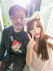 周盈欣 CIMG1370 (jaspherwang) Tags: 周盈欣 王佳維 合照