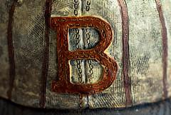 Red Sox (f8shutterbug) Tags: idb redsox baseball cap logo macro closeup boston texture miniature