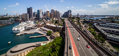 Pylon Views (Jared Beaney) Tags: canon6d canon australia australian photography photographer travel sydney newsouthwales city cityscapes cityscape pylonlookout sydneyharbourbridge circularquay views view