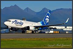 N625AS Alaska Airlines Cargo (Bob Garrard) Tags: n625as alaska airlines cargo boeing 737 anc panc