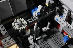 10 - Mechanism (KirtonBricks) Tags: millennium falcon lego mod moc 75192 custom star wars build building bricks gun technic gear