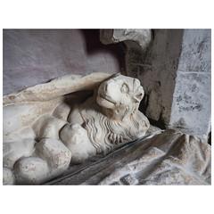 Celestial lion (badger_beard) Tags: st augustine canterbury burrough green cambridgeshire south cambs east newmarket parish church england lion thomas de burgh monument