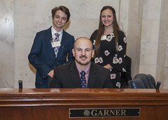 3-20-19 Zachary Gwinn and Maggie Harrell pages for Sen Trent Garner (Arkansas Secretary of State) Tags: 32019 zachary gwinn maggie harrell pages for sen trent garner