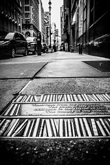 The streets are paved with books (broadswordcallingdannyboy) Tags: mono bw city manhattan nyc ny newyork eos7d leonreillyphotography leonreilly copyright donotcopy mood atmosphere newyorkcity usa eastcoast americafuckyeah america bwcity light newyorkminute newyorkstateofmind newyorkmono nycinbw east40thst