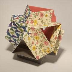 Stella Alpha Kusudama (Thomas Sibold) Tags: origami thomas sibold stella alpha kusudama maria sinayskaya