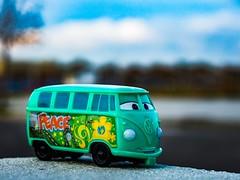 Fillmore (radoslav.bonev) Tags: cars canon700d canon streetphotography street urban urbanphotography bokeh green photography park photoftheday pictureoftheday pictureftheday spring car toy toys pixar disney composition calle 50mm