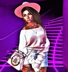 ^spring pink^ (Victorya Dynasty) Tags: pink woman adv love summer spring april 3d avatar shop influencer blogh bloggher moda paris