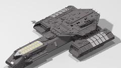 Daedalus Stargate WIP (naboon1starfighter) Tags: lego stargate uss daedalus oddyssey phoenix apollo korolev george hammond bc 304 deep space carrier f302 atlantis