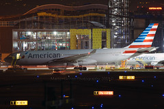 American Airlines (Martijn Groen) Tags: losangeles elsegundo california unitedstates usa april 2019 airport aircraft airlines airplane airline airbus americanairlines a330 a330200 a332 night