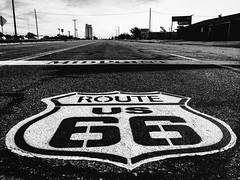 Tex (Thomas Hawk) Tags: adrian america midpoint route66 texas usa unitedstates unitedstatesofamerica bw us fav10 fav25 fav50