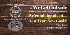 @algonquinoutfit : New Year.... New Adventures.... New Chat season! Join us and @Some_Eventful tomorrow night for the first #WeGetOutside chat of 2019. We'll be talking about outdoor goals for the coming year. See you at 7:30 pm est. https://t.co/fnIPxGGX (AlgonquinOutfitters) Tags: ifttt twitter specific user photos