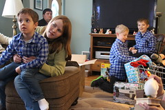 Christmas Day 2017 (Mike and Sarah Hays) Tags: nora niall tom liam declan