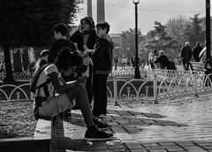 DSCF1044-2 (bmakaraci) Tags: fujiflim xt2 f16 burakmakaraci blackandwhite black street candid sweet turkey outdoor look depth grain lens life like ligth boy new photograpy photographer 50mm
