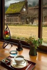 Coffee Time (Walter Quirtmair) Tags: ifttt 500px shirakawagō coffe table house window village cafe japan quirtmair patio balcony coffee deck seat