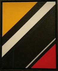 SEQUENZ 1  1984 (HolgerArt) Tags: konstruktivismus gemälde kunst art acryl painting malerei farben abstrakt modern grafisch konstruktiv