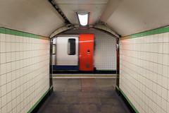 Framed Blur (gooey_lewy) Tags: day out london tfl underground tube northern line high barnet branch inspiration tubemapper highgate station